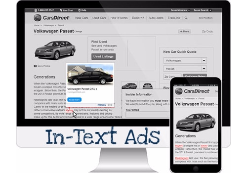 Best In-Text Advertisement Programs