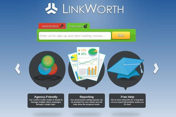 Linkworth In-text Advertisement