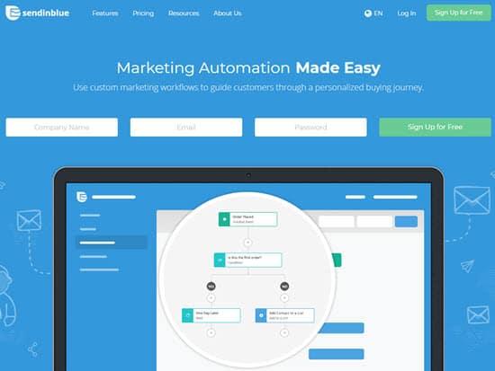 SendinBlue Email Marketing Services