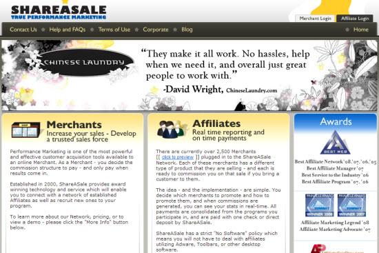 Shareasale affiliate