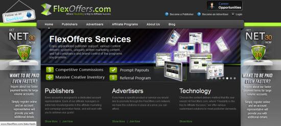 Flexoffer affiliate program