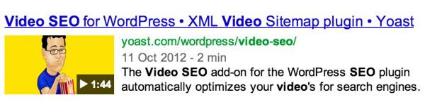 Yoast Video SEO WordPress Plugin