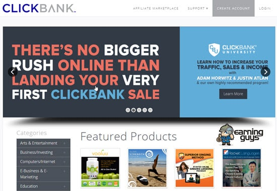 ClickBank PPS Affiliate Network