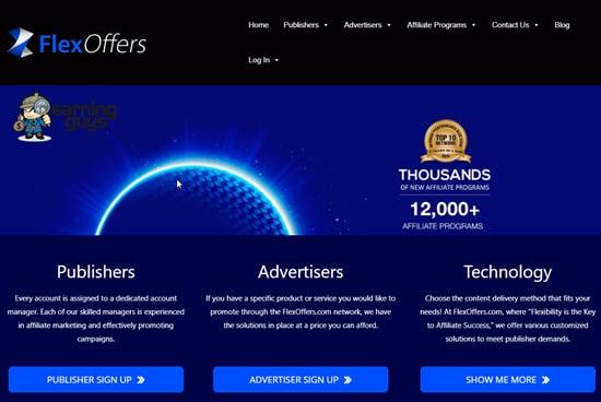 FlexOffers Pay Per Sale Marketing