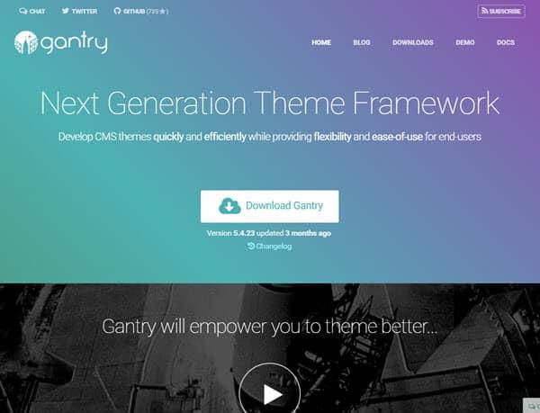 Gantry Framework SEO Friendly WordPress Themes