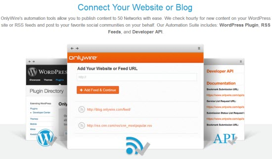 Automate Social Submission with OnlyWire