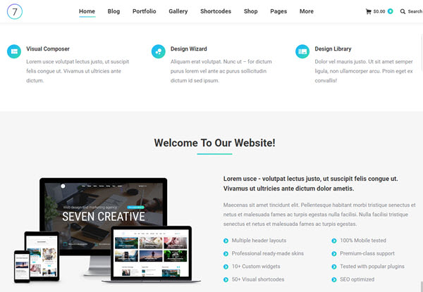 The7 SEO WordPress Themes