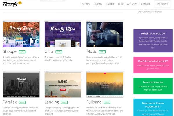 Themify SEO Friendly WordPress Themes