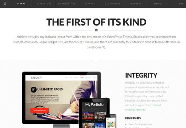 X SEO Friendly WordPress Themes