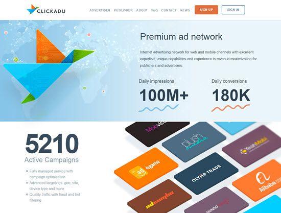 ClickAdu Pop-Under Ad Network