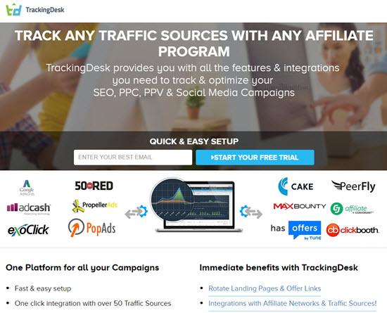 TrackingDesk Affiliate Tracking Software