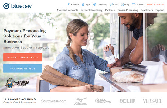 BluePay Payment Processing