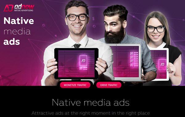 AdNow Native Ad Network