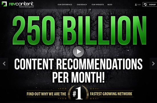 Revcontent Native Ad Network