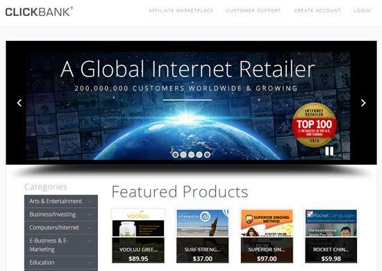 ClickBank Referral Program
