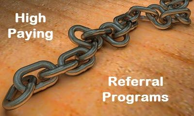 High Paying Referral Programs
