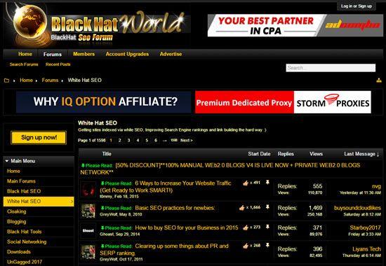 Black Hat World SEO Forums