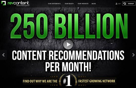 Revcontent Native Ad Networks