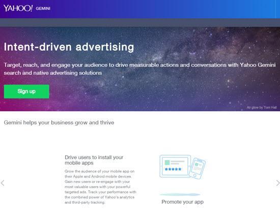 Yahoo Gemini Native Ad Networks