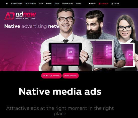 AdNow Native Ad Networks