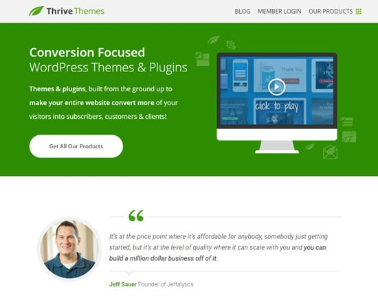 Thrive Themes Recurring Affiliate Program