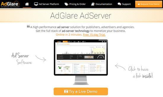 Ad Server AdGlare