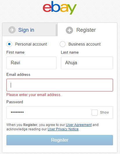 Join eBay Partner Network