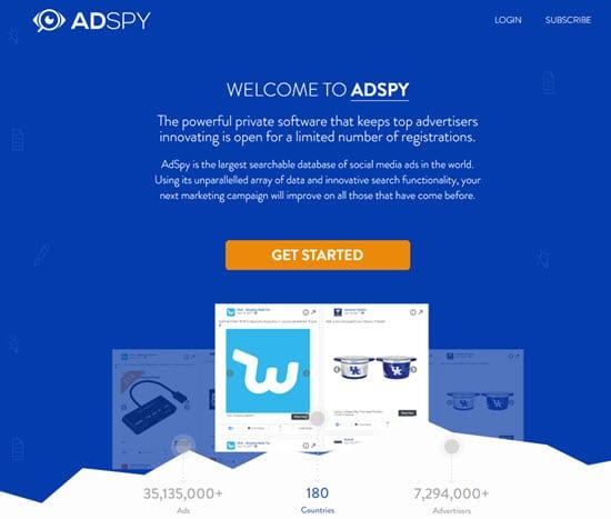 AdSpy Facebook Ads Spy Software