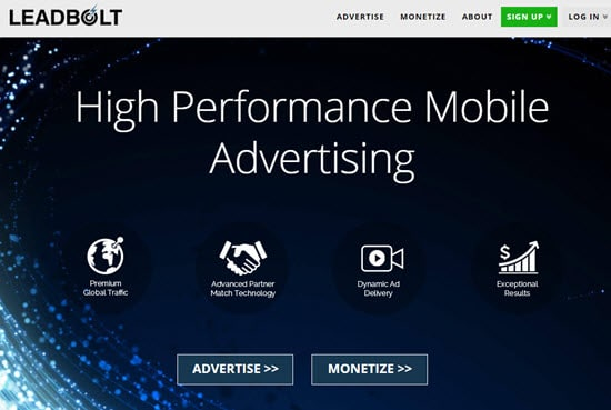 Leadbolt Mobile Ad Networks