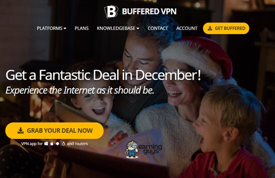 Buffered VPN Service Provider
