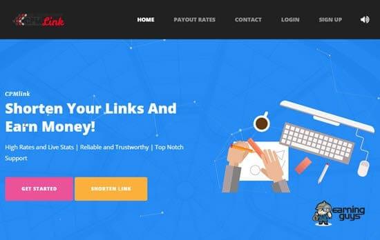 CPMlink Shrink URL
