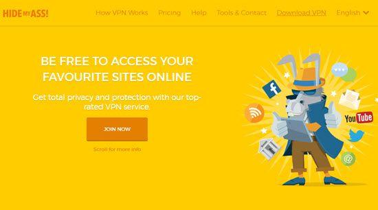HideMyAss Best VPN Service Providers