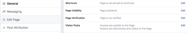FB Page Verification