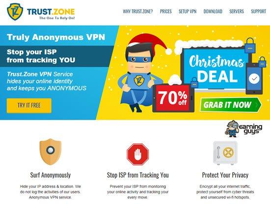Trust.Zone VPN Service Provider