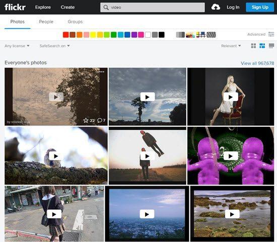 Flickr YouTube Alternatives