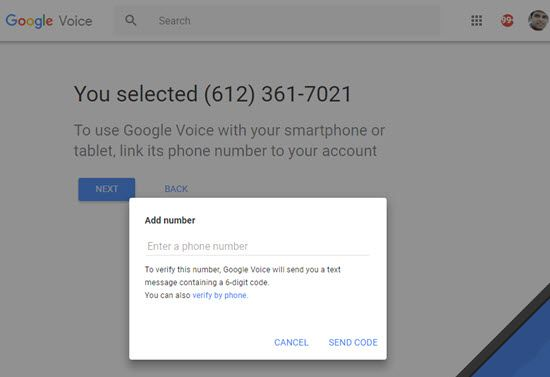How to setup Google Voice