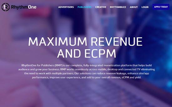 RhythmOne Rich Media Ad Network