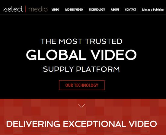 Selectmedia Video Advertising Networks