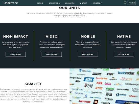 UnderTone Ad Network