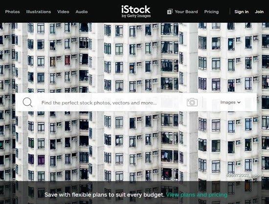 iStock Sell Photos Online