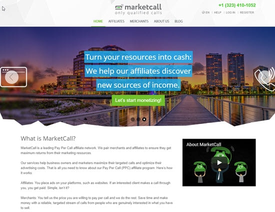 MarketCall Pay Per Call Network