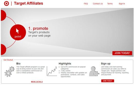 Target Affiliate Programs