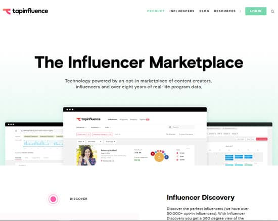 TapInfluence Influencer Marketplace