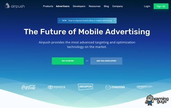 Airpush Mobile Push Ads