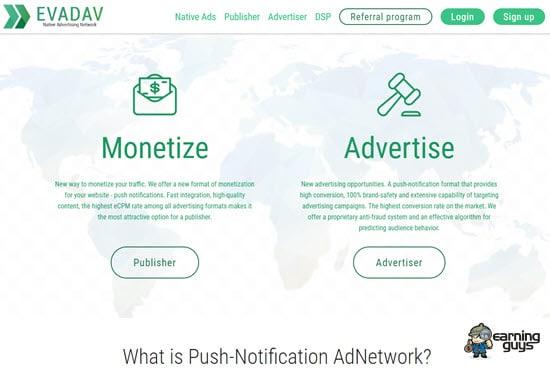 Evadav Ad Network