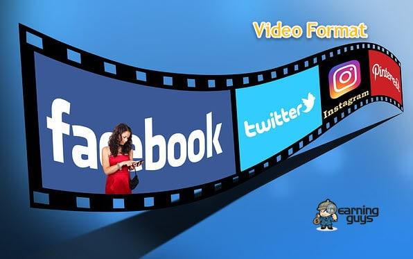 Best Video Format for YouTube, Facebook, Twitter & Instagram