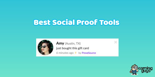 Best Social Proof Tools