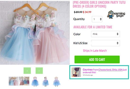 Fera Social Proof Shopify