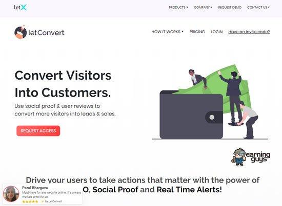 LetConvert Social Proof Tools