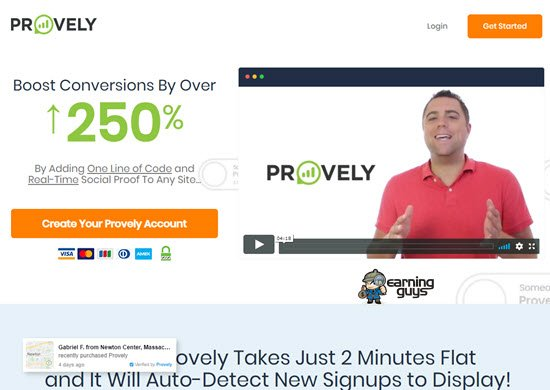 Provely Social Proof Tools
